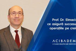Prof. Dr. Ilhan Elmaci: ce se ascunde în spatele unei operații pe creier reușite