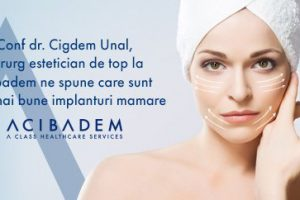 Conf dr. Cigdem Unal, chirurg estetician de top la Acibadem ne spune care sunt cele mai bune implanturi mamare