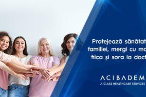Protejează sănătatea familiei, mergi cu mama, fiica și sora la doctor!