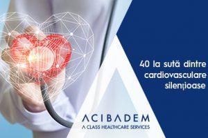 40 la sută dintre bolile cardiovasculare sunt silențioase
